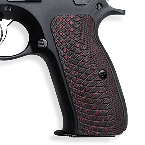 UPC 814677022674, COOL HAND CZ 75 Full Size Grips , G10 ,Snake Scale Texture Red/Black