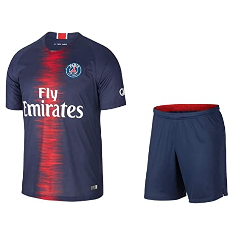 f7d72b55157 Desalsar House Non PSG Home Football Kids Jersey with Short 2018-19 Kids  Size (
