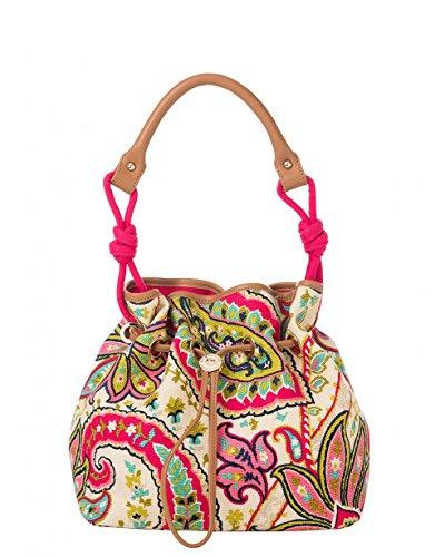 Handbag Drawstring Signature (Spartina 449 Classic Drawstring - Salt Meadow)