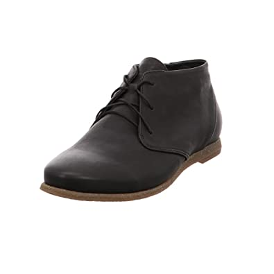 Think Damen Shua_282025 Desert Boots, Schwarz (Sz/Kombi 09), 37 EU
