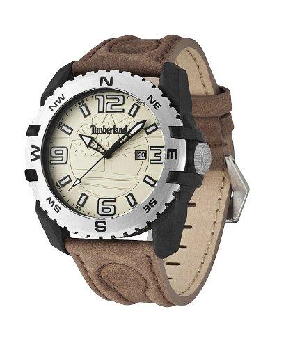 Timberland 13856JPBS.07 Mens Brookline Brown Leather Strap Watch