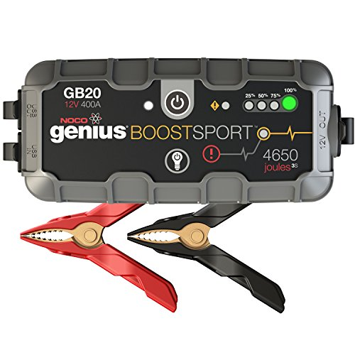 NOCO Genius Boost Sport GB20 400 Amp 12V UltraSafe Lithium Jump (All Star Edge)