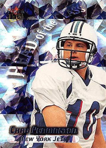 Chad Pennington Football Card (Marshall Thundering Herd) 2000 Fleer Ultra Head of the Class Rookie Refractor #4HC ()