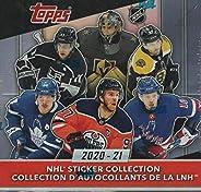 2020/21 Topps NHL Hockey Sticker Collection Box