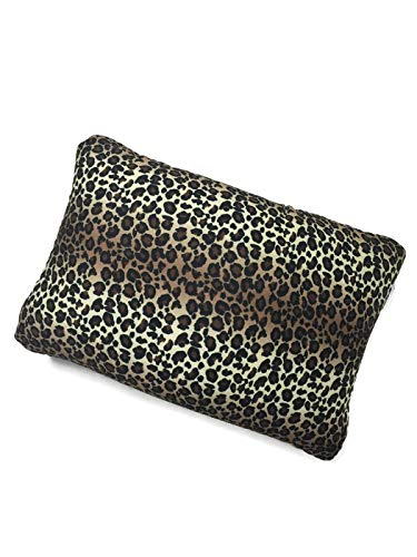 - Cushie Pillows 13.5 inches x 10 inches Microbead Squishy/Flexible/Comfortable Rectangle Pillow - Leopard