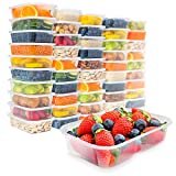 [50 pack, 17oz] Food Storage...
