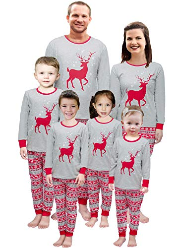 Little Pajamas Holiday Family Matching Fleece Bear Plaid Pajama PJ Sets Kids Pjs -