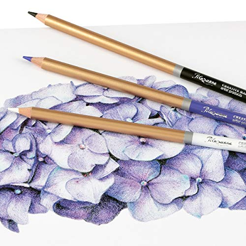 Cezanne Colored Pencils Set of 72 Colors, Professional Artist Quality Soft Feel Core for Drawing Art, Sketching, Shading & Coloring - Metal Gift Tin Box