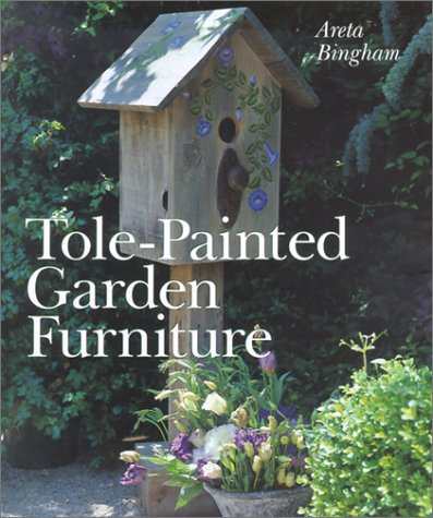 Tole-Painted Garden Furniture