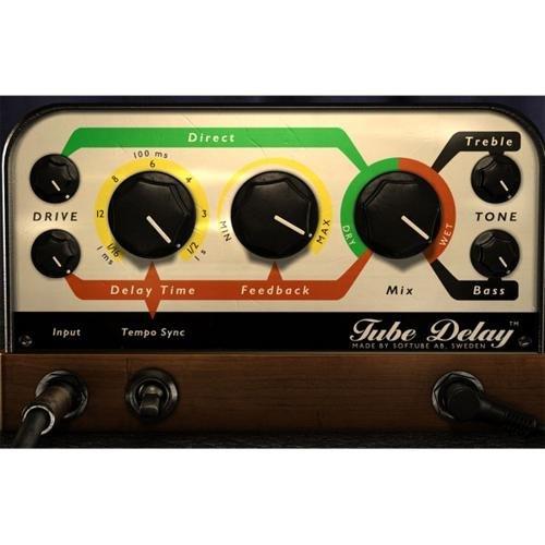 Softube Tube Delay Audio Plug-in (Native) by Softube