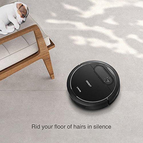 ECOVACS Deebot N78 Self Charging Robotic Vacuum Cleaner/Air Filter for Pet Hair/Fur/Allergens, Tile & Hardwood Floors