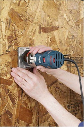 Bosch Colt Palm Grip PR20EVSK 5.6 Amp 1-Horsepower Fixed-Base Variable-Speed Router with Edge Guide by Bosch (Image #9)