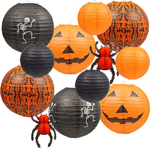 Jack Skeleton Decorations (UNIQOOO 12Pcs 12