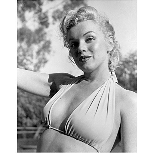 Marilyn Monroe In Bikini With Ponytail 8 x 10 Photo]()