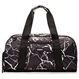 "Vooray Burner Sport 20"" Gym Bag with Shoe Pocket & Laundry Bag (Black Marble),Large"