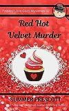 Red Hot Velvet Murder (Frosted Love Cozy Mysteries)