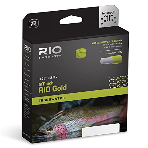 Rio Gold InTouch Trout Series Moss/Gray/Gold Fly Line WF-7-F (Wf Series)