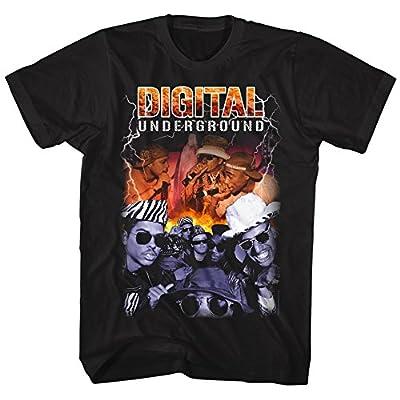 American Classics Digital Underground Bootleg Humpty Hump Tupac and Whole Posse Adult T-Shirt Tee