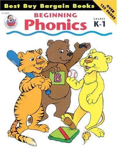 Beginning Phonics, Grades K-1 (Best Buy Bargain Books)