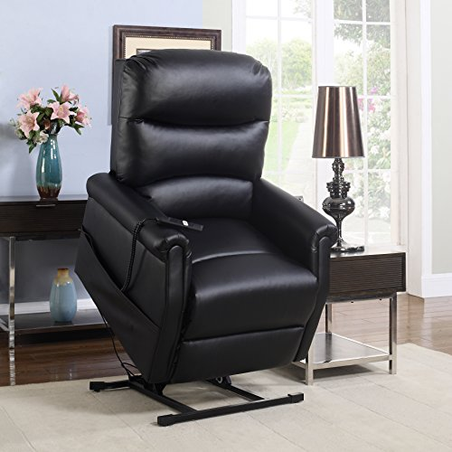 leather power reclining living room sets madison home classic plush bonded leather power lift