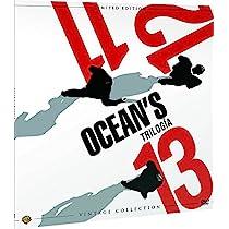 Trilogía Oceans Colección Vintage (Funda Vinilo) [DVD]