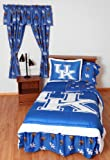 NCAA Kentucky Wildcats Collegiate 7pc Blue Queen Bedding Set