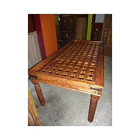 int. dailleurs - Mesa Grande 210x100x76 cm moucharabieh - PAL017 ...