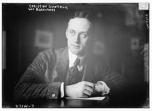 1910 Photo Christian Gunther Von Bernstorff by Historic Photos