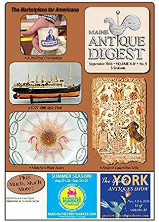 Maine Antique Digest: Amazon com: Magazines