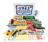 Woodstock Candy 1943 75th Birthday Gift Box - Nostalgic Retro Candy Mix from Childhood for 75 Year Old Man or Woman Jr. …