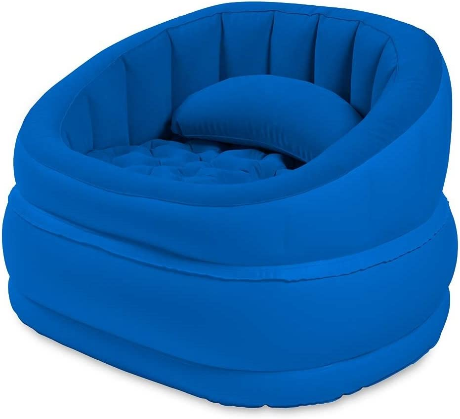 Top Plush Inflatable Cafe Chair