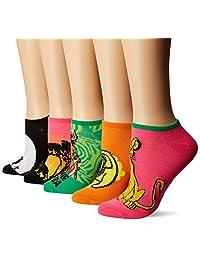 Disney Lion King 5 Pack No Show Socks