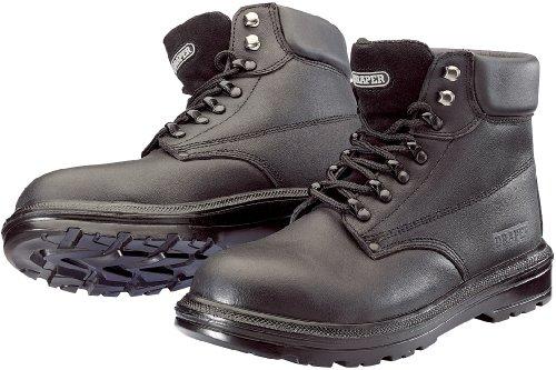 Draper 49340 Chaussures de sécurité Embout et semelle intermédiaire composites Cuir noir Pointure 44 (Import Grande Bretagne)