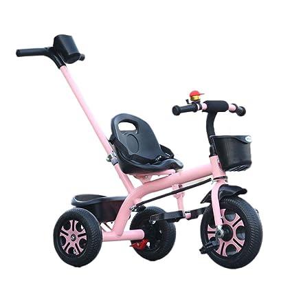 PIAOLING Carro de bebé de Cochecito de bebé de Bicicleta de Tres ...