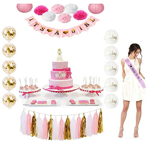 Girl Baby Shower its a Girl Party Decoration