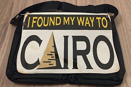 Borsa Tracolla Viaggi Cucina Cairo Egitto Stampato