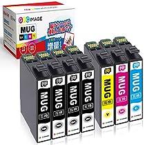 GPC Image エプソン MUG-4CL マグカップ インク 合計7本 ( MUG 4...