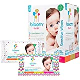Baby Wipes by bloom BABY All-Natural Hypoallergenic Unscented Baby Wipes
