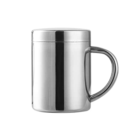 Taza de acero inoxidable Acero Inoxidable 260ml Jarra de ...