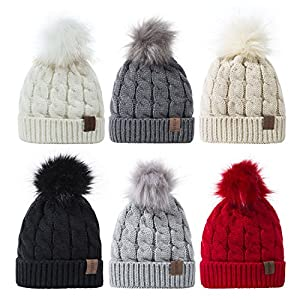 REDESS Baby Boy Winter Warm Fleece Lined Hat, Infant Toddler Kids Beanie Knit Cap For Girls and Boys [0-5years]