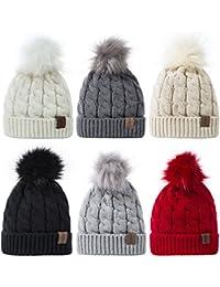 3f20c9ffd27 Baby Kids Winter Warm Fleece Lined Hats