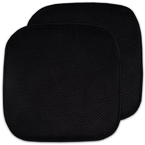 2 Pack Memory Foam Honeycomb Nonslip Back 16