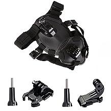ASOCEA Fetch Dog Harness Chest Mount for Gopro HERO 6 5 4 3 Black Silver SJCAM SJ5000 Xiaomi Yi AKASO Pictek APEMAN Sports Action Camera Pet Accessories kit