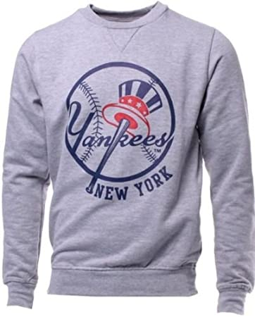 best cheap 2acec 2baab Majestic York Yankees MLB Licensed Gray Jameson Sweatshirt Men Big Sizes
