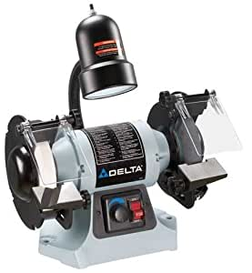 DELTA GR275 6-Inch Variable Speed Grinder with Tool-Less Change