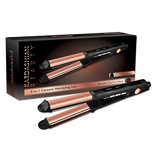 Kardashian Beauty 3-in-1 Iron, 1.98 lb.