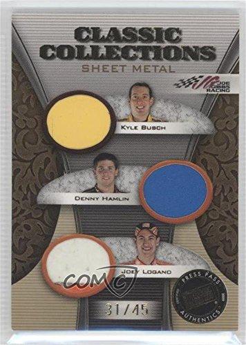 kyle-busch-denny-hamlin-joey-logano-31-45-trading-card-2009-press-pass-showcase-classic-collections-