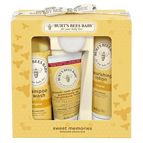 Baby Sets Sweet (Burt's Bees Baby Sweet Memories Keepsake Photo Box)