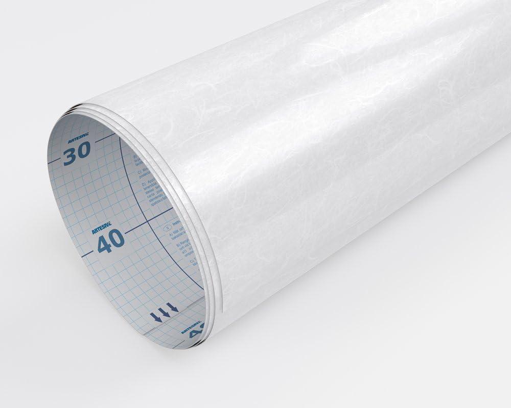 Pellicola Adesiva Vetri da interno per Protezione Privacy Offuscante Decorativa 100 cm AL METRO LINEARE Artesive G-05 Filigrana larg