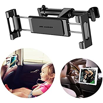 Purse Grocery 2 Pack Universal Vehicle Car Headrest Hooks Hanger with Lock and Phone Bracket for Holding Phones and Hanging Bag Car Hooks Car Seat Back Hooks with Phone Holder,Mifeng Cloth